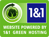 1&1 is now a green hosting company.