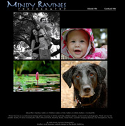 Mindy Ravines Photography Website